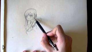 Смотреть онлайн Учимся поэтапно рисовать аниме людей для начинающих