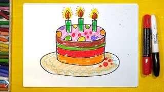 Смотреть онлайн Урок рисования для ребенка 3-4 лет