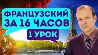Смотреть онлайн Французский язык с Петровым за 16 часов. Урок 1