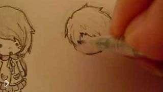 Смотреть онлайн Как научиться рисовать аниме в стиле чиби