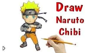 Смотреть онлайн Как научиться рисовать персонажа чиби Наруто
