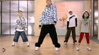 Смотреть онлайн Урок как детям научиться танцевать брейк-данс