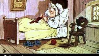 Смотреть онлайн Диафильм «Красная Шапочка»