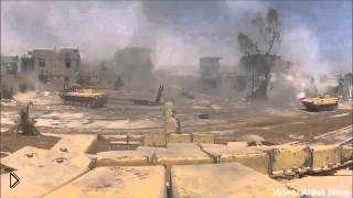 Смотреть онлайн Сирия попадания в танки. Горящие и подбитые танки