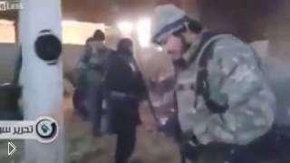 Смотреть онлайн Расстрел боевиками пленных мирных жителей в Сирии