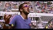 Смотреть онлайн Подборка: Теннисисты злятся во время игры