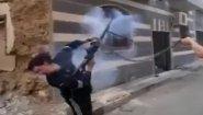 Смотреть онлайн Подборка: Фейлы во время стрельбы в Сирии