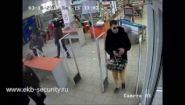 Смотреть онлайн Какая продуманная русская кража из магазина