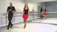 Смотреть онлайн Как танцевать основные шаги в танце Ча-ча-ча