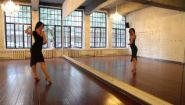 Смотреть онлайн Женские движения в танце стиля ча-ча-ча