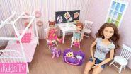 Смотреть онлайн Как своими руками сделать дом для куклы