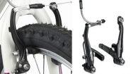 Смотреть онлайн Регулировка тормозов v brake на велосипеде