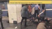 Смотреть онлайн В Санкт-Петербурге в метро прогремел взрыв (Теракт)