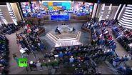 Смотреть онлайн Прямая трансляция с Путиным В. В. 15.06.2017