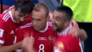 Смотреть онлайн Глушаков из сборной России забил гол Новой Зеландии