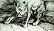 Смотреть онлайн Басня: Волк на псарне