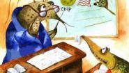 Смотреть онлайн Басня: Щука и кот