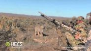 Охотники удивились, когда встретили рысь - Видео онлайн