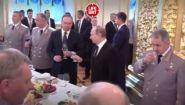 Как пьет алкоголь Владимир Путин - Видео онлайн