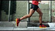 Смотреть онлайн Как ставить ногу во время бега