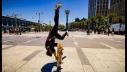 Смотреть онлайн Катание на скейтборде, снято в 8К