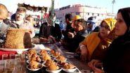 Смотреть онлайн Какая уличная еда есть в Марокко