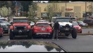 Смотреть онлайн Подборка: Люди психуют, когда кто-то плохо паркуется