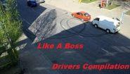 Смотреть онлайн Крутые трюки, которые выполняли гонщики и водители