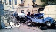 Подборка аварий: Сталкиваются на большой скорости - Видео онлайн