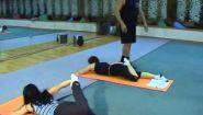 Смотреть онлайн Гимнастика для оздоровления спины - урок