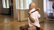 Смотреть онлайн Гимнастика для шеи с упражнениями