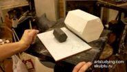 Смотреть онлайн Урок: Лепка из пластилина сложных геометрических предметов
