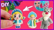 Смотреть онлайн Лепка фигурок из пластилина для девочек, урок