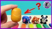 Смотреть онлайн Урок лепки из пластилина для детей 5 лет