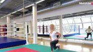 Смотреть онлайн Кроссфит упражнения в домашних условиях для начинающих