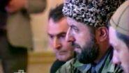 Смотреть онлайн Ельцин жестко разговаривал с лидером Чечни (1996)