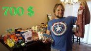 Смотреть онлайн Что можно купить из продуктов на 700$ в США