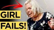 Эпические фейлы с девушками со всего света - Видео онлайн