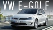 Смотреть онлайн Обзор VW E-Golf, тест-драйв