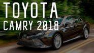 —мотреть онлайн Обзор на автомобиль Toyota Camry, 2018 год