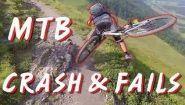 Смотреть онлайн Подборка: Велосипедисты падают с горных великов