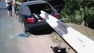 Смотреть онлайн Подборка аварий на дорогах с участием BMW