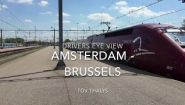 Смотреть онлайн Как выглядит поездка из Амстердама в Брюссель на поезде