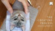 Смотреть онлайн Процесс создания лица кошки