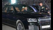Путин прокатился на бронированном Аурисе - Видео онлайн