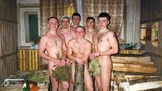 В бане голые парни 11